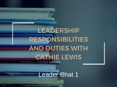 leadership_responsibilities duties cathy lewis