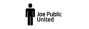 joe public logo long